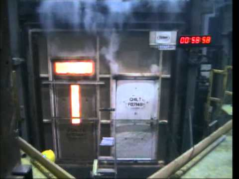 masterdor FD60 60 minute fire test on our timber door & masterdor FD60 60 minute fire test on our timber door - YouTube