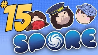 Spore: Time to Barf - PART 15 - Steam Train
