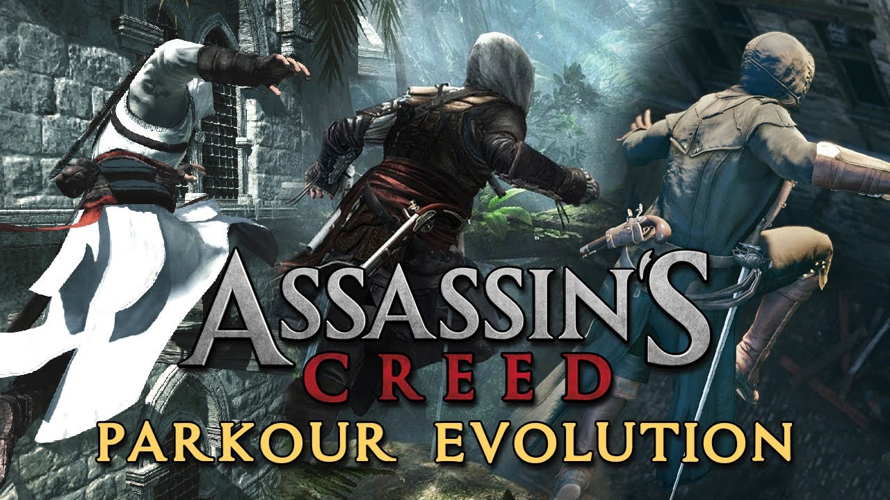 Assassin S Creed Parkour Evolution 2007 2020 Youtube