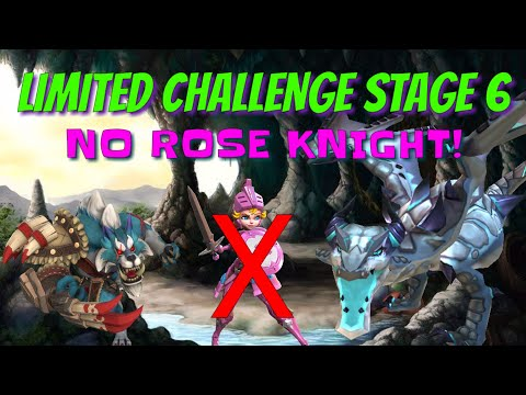 Limited Challenge Stage 6 - No Rose Knight! - Lords Mobile