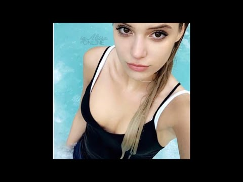 Alissa Violet Thrown and Pushed in the pool wetlook