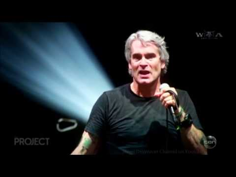 "Henry Rollins - LIVE ""Gays, Guns & Trump"" Australian Tv Interview Aug. 30 2016"