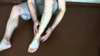 самомассаж голеностопного сустава (massage ankle)