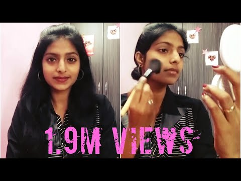 Easy Office Makeup | Under 10 mins