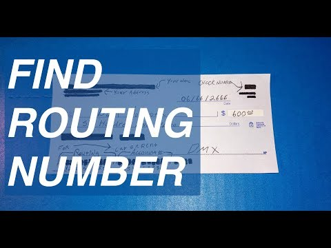 Where Do You Find The Bank  Routing And Account Number On A Check