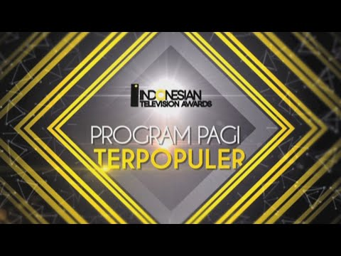 Cover Lagu Nominasi Indonesian Television Awards Program Pagi Dan Siang Terpopuler