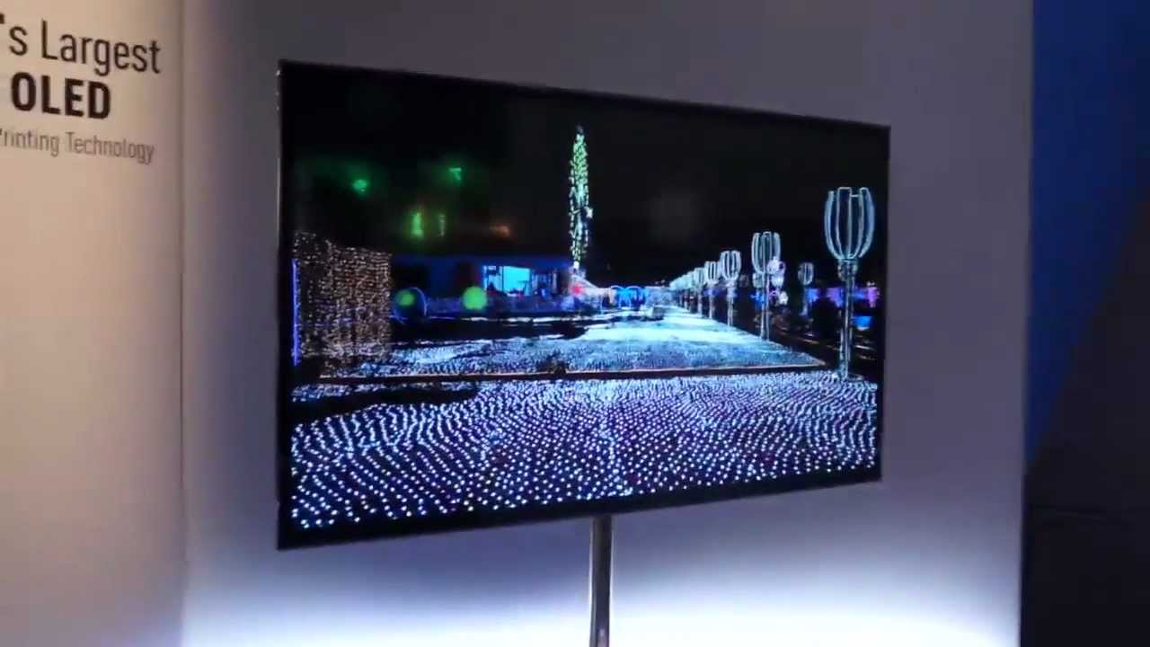 panasonic 39 s 56 inch 4k oled tv ces 2013 youtube. Black Bedroom Furniture Sets. Home Design Ideas