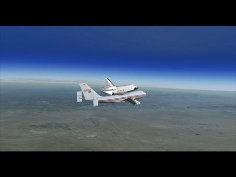 Orbiter 2010 - Space Shuttle Enterprise ALT-1 Simulation