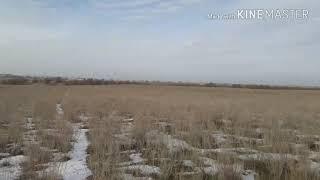 Коп в Казахстане.  Наступила зима.