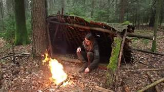 Building A Camp In The Woods Part 3