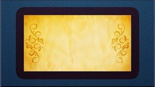 Dunkel Blau Photo Frame-Animation, Titel, Video-Hintergrund DMX-HD-BG 310