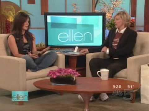 Evangeline Lilly on Ellen