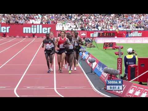Mo Farah wins Men