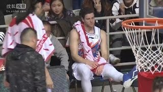 Jimmer Fredette Suffers Ankle Injury vs Liaoning Flying Leopards | Highlights | January 13, 2017