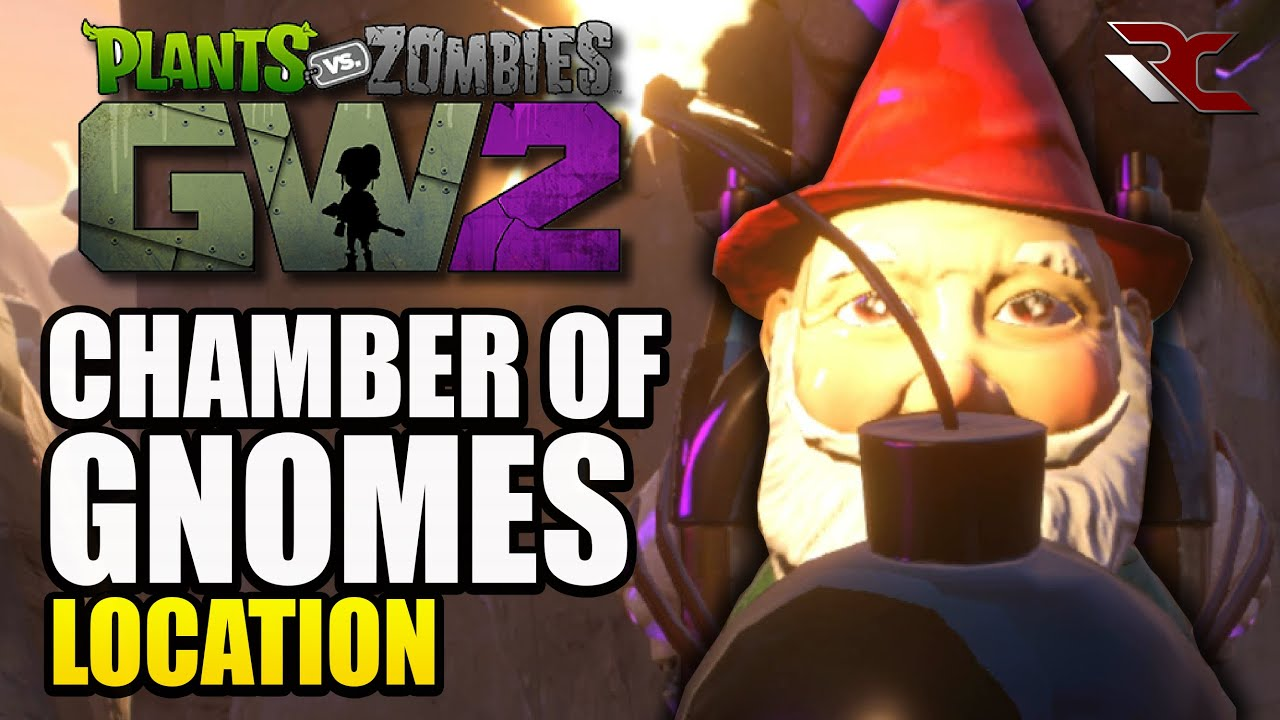 Pvz Garden Warfare 2 Chamber Of Gnomes Location Gnome Mans Land Achievement Trophy Guide