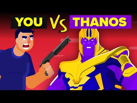 YOU vs THANOS - How Can You Defeat And Survive Him? Avengers Endgame Movie