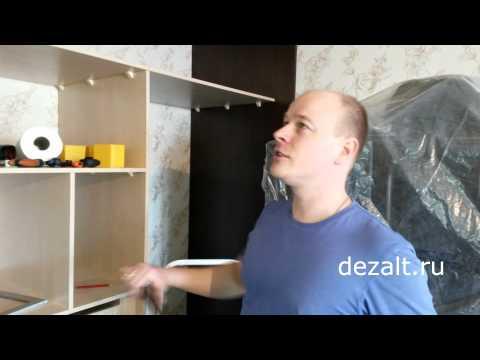 Изготовление короба в шкафу-купе, для натяжного потолка