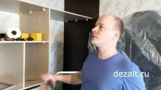видео Шкаф купе или натяжные потолки, что раньше?
