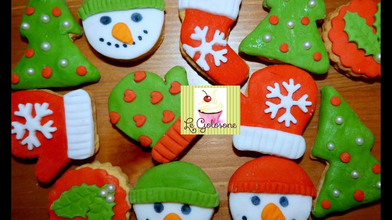 Segnaposto Natalizi Pasta Di Zucchero.Biscotti Di Natale In Pasta Di Zucchero How To Decorate Christmas Cookies