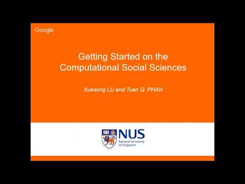 Getting Started on the Computational Social Sciences (Tuan Q. Phan)