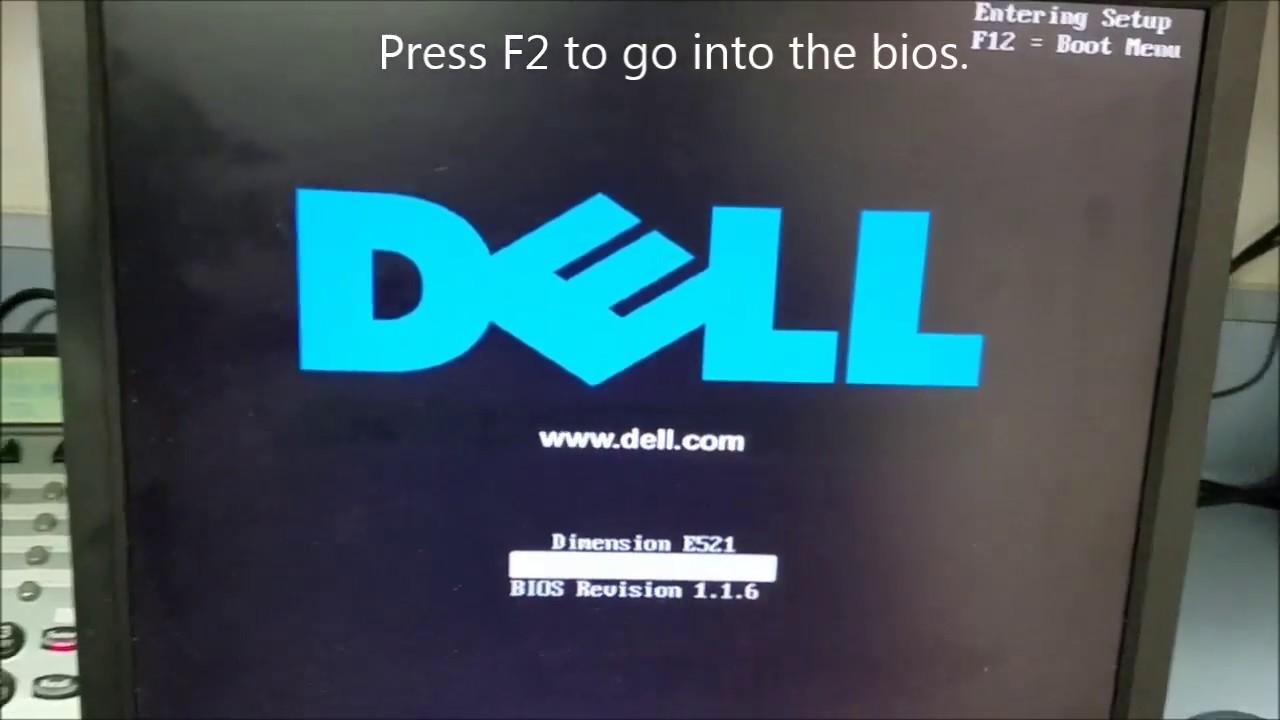 Dell E521 Boot Freeze