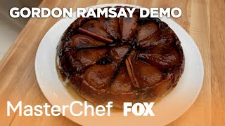 Gordon Demos How To Make Tarte Tatin | Season 10 Ep. 7 | MASTERCHEF