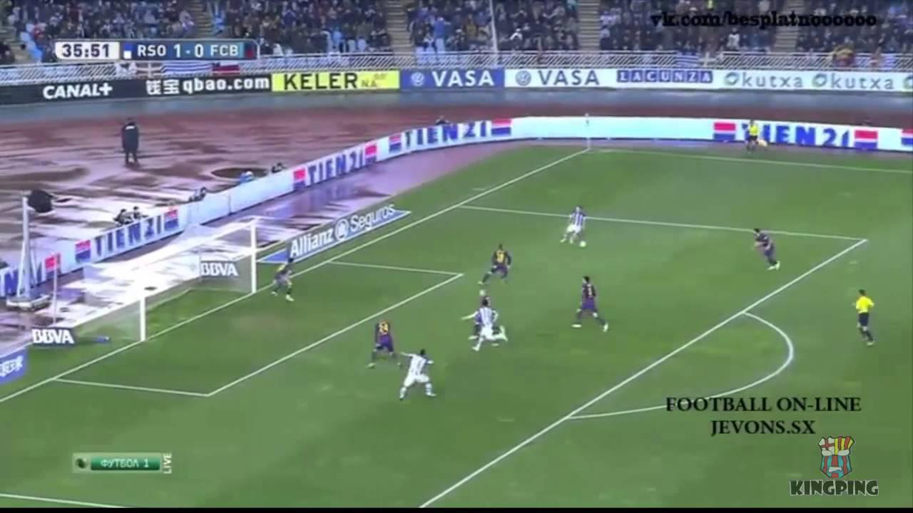 Real sociedad vs Barcelona 2015 1-0| RESUMEN Y GOLES HD ...