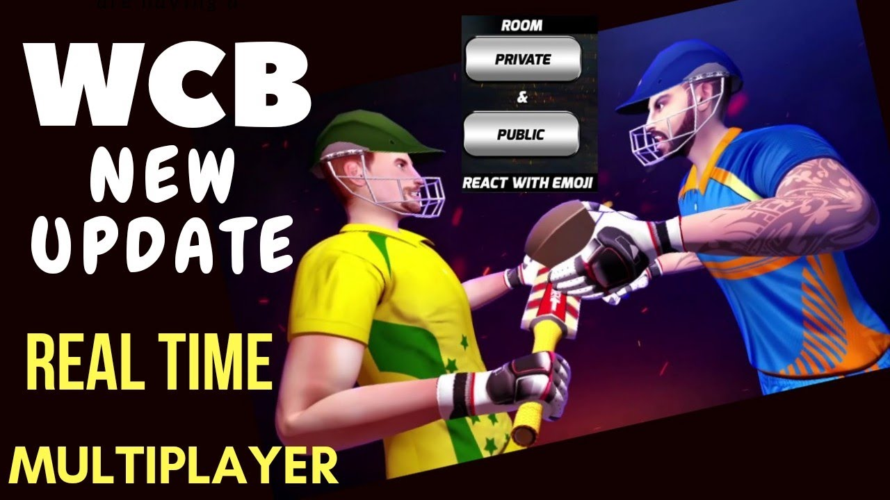 🔥WCB NEW UPDATE, REAL TIME MULTIPLAYER, DOWNLOAD APK/ OBB  #Smartphone #Android
