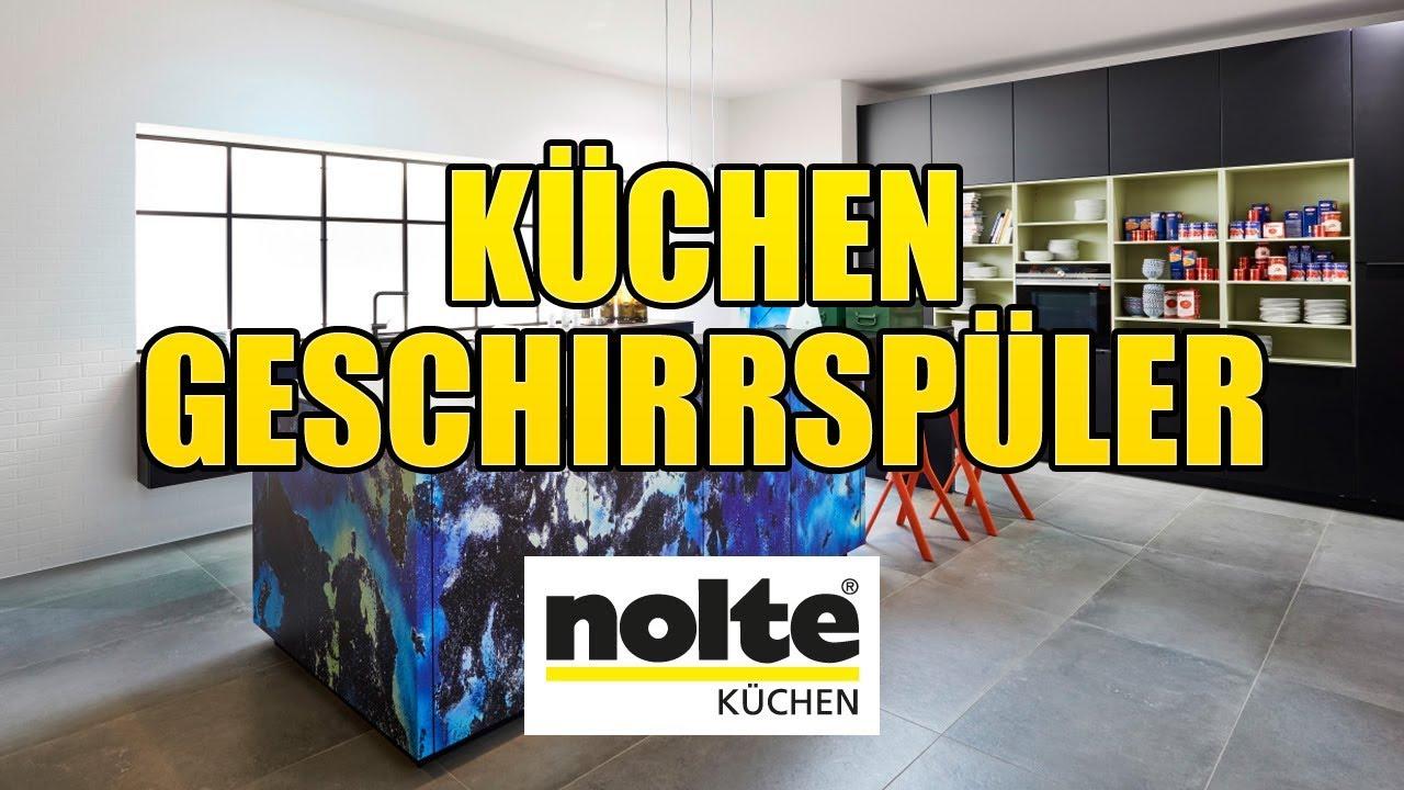 Nolte Küchen - Geschirrspüler [Montagevideo] - YouTube