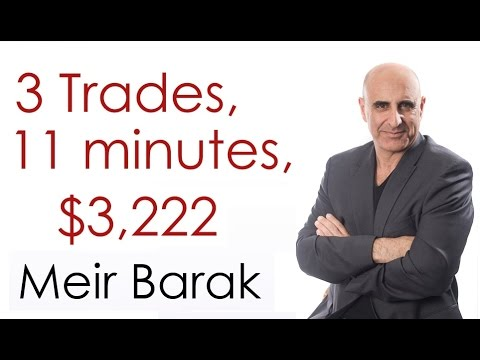 Day Trading Stocks for $3,222 in 11 minutes – Meir Barak