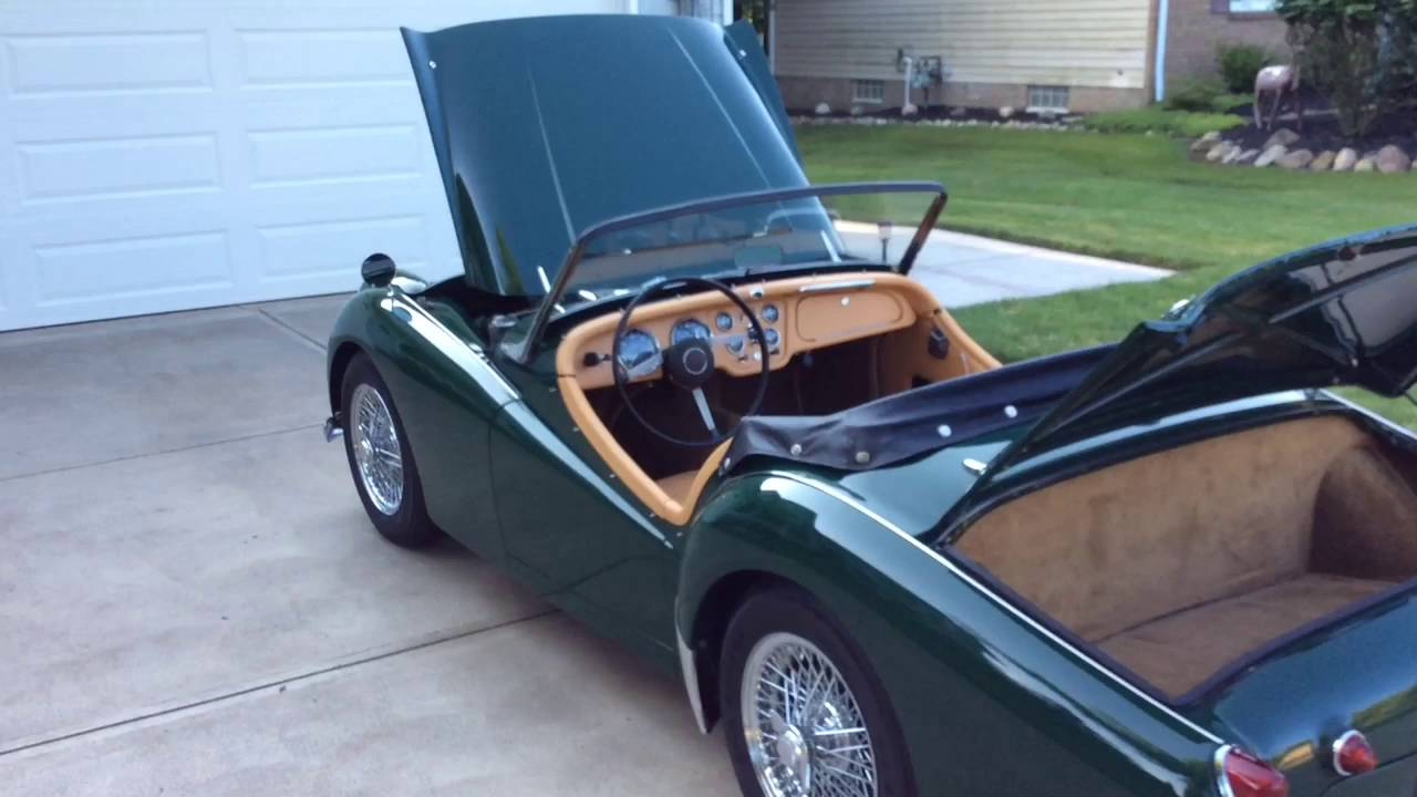1957 triumph tr3 youtube. Black Bedroom Furniture Sets. Home Design Ideas