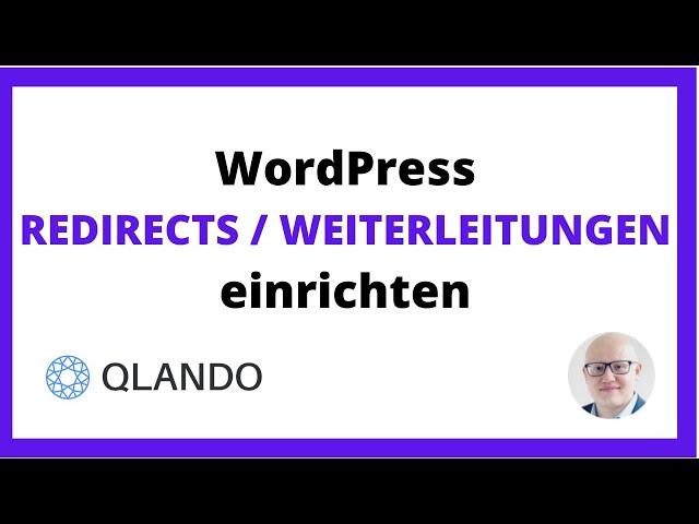 WordPress Redirects / Weiterleitungen Installieren [2021] | QLANDO