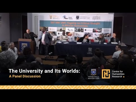 The University and Its Worlds: A Panel Discussion