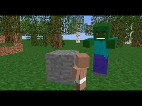 The baby - Minecraft Animation