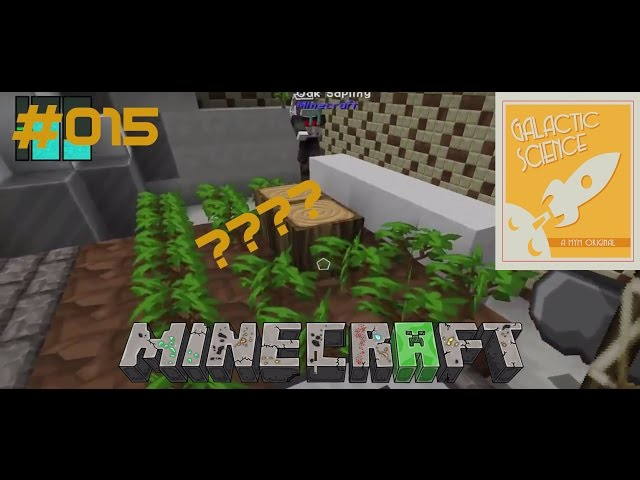 Let's Play Minecraft Galactic Science | Chopper-Verwirrung | Folge #015