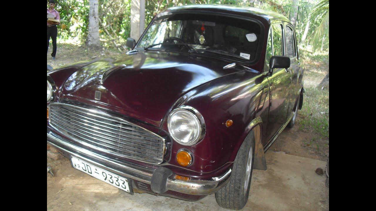 Ambassador car for sale - YouTube