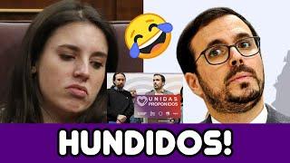 ALBERTO GARZÓN HUMILLADO por toda ESPAÑA, IRENE MONTERO METE en un LÍO AL GOBIERNO, Y EL PP... 🤦🤦🤦