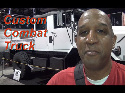 QUICK CLIP: Custom Combat Truck @2015 Atlanta International Auto Show