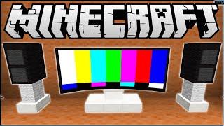 видео майнкрафт как сделать телевизор без модов