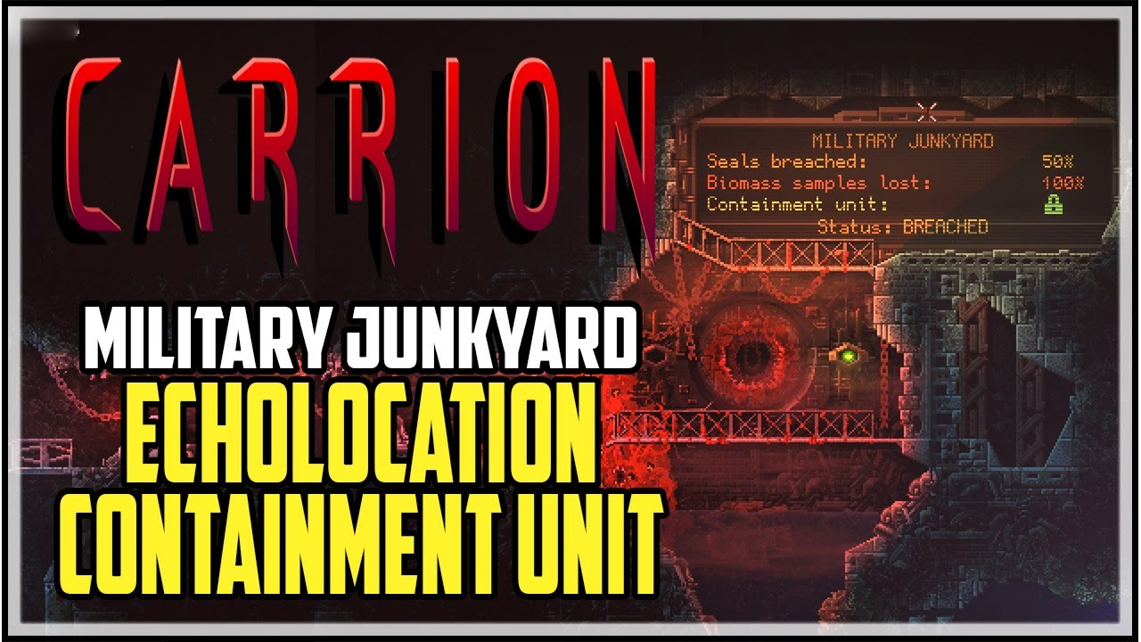 Carrion Botanical Gardens Containment Unit Location Youtube