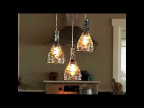 lampe bouteille en verre youtube. Black Bedroom Furniture Sets. Home Design Ideas