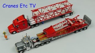Towsleys Manitowoc MLC650 Crawler Crane - Part 1 Assembly - by Cranes Etc TV