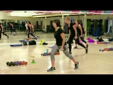 Cathe Friedrich's Compound HiiT Live workout