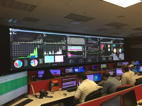 Userful video wall in Control Rooms, Command Centers and NOCs