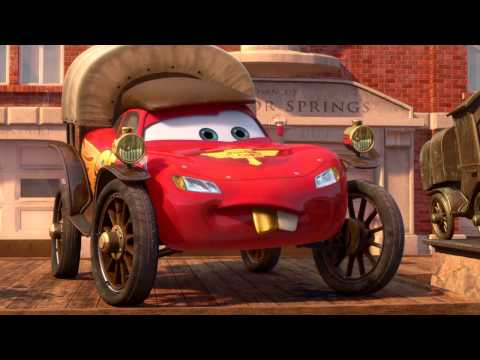 Radiator Springs 500 1/2 - McQueen Gets Challenged