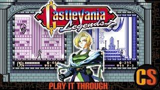 CASTLEVANIA LEGENDS - PLAY IT THROUGH