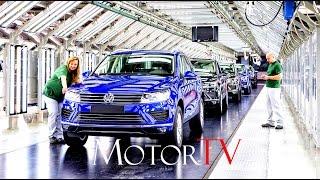 CAR FACTORY : 2017 VOLKSWAGEN TOUAREG PRODUCTION l Bratislava, Slovakia Plant