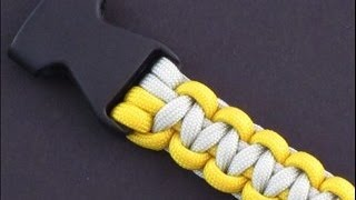 A Simple Means of Attaching Buckles to a Paracord Tie by TIAT