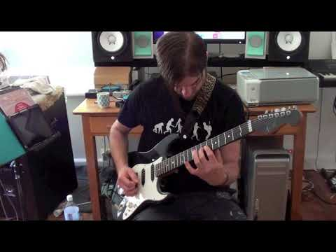Funk Rock Guitar Solo #2 w/ PDF & TAB
