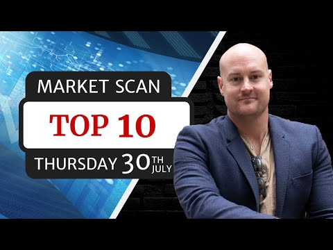 Cryptocurrency Market Scan | Top 10 | Thursday 30th July (2020)